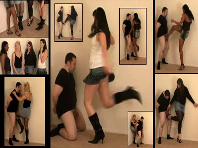 Mistresses enjoys slave's extreme humiliation